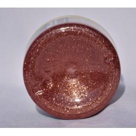 Glass glitter paszta - réz