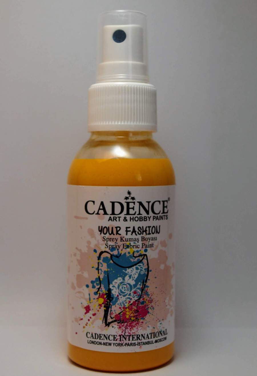 Your fashion textil spray - napsárga
