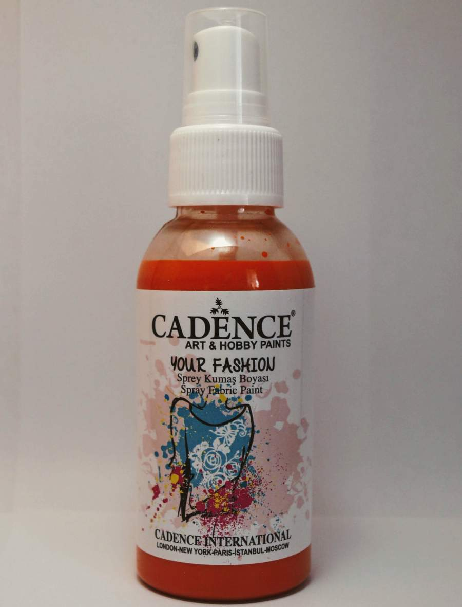 Your fashion textil spray - narancs