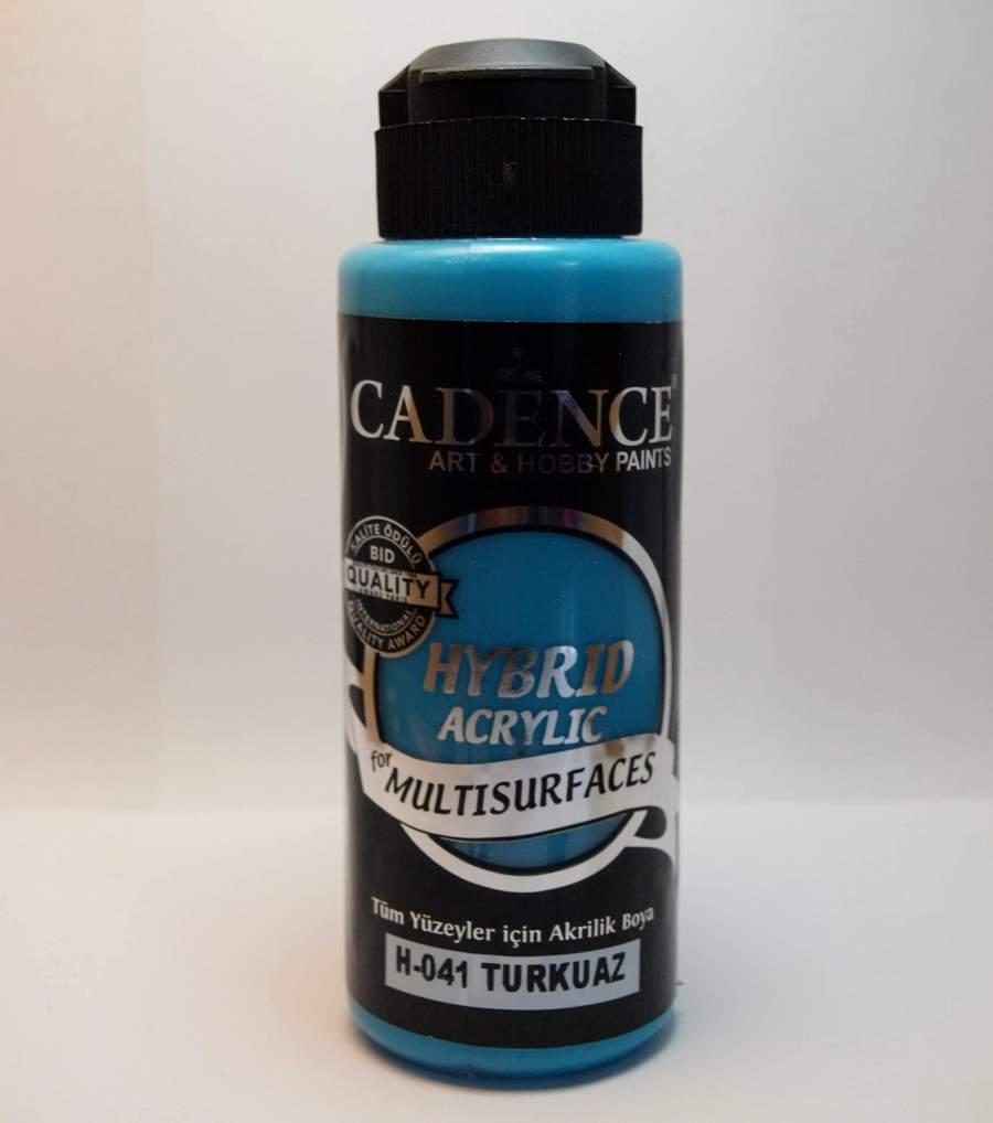 Hybrid akril festék - türkiz