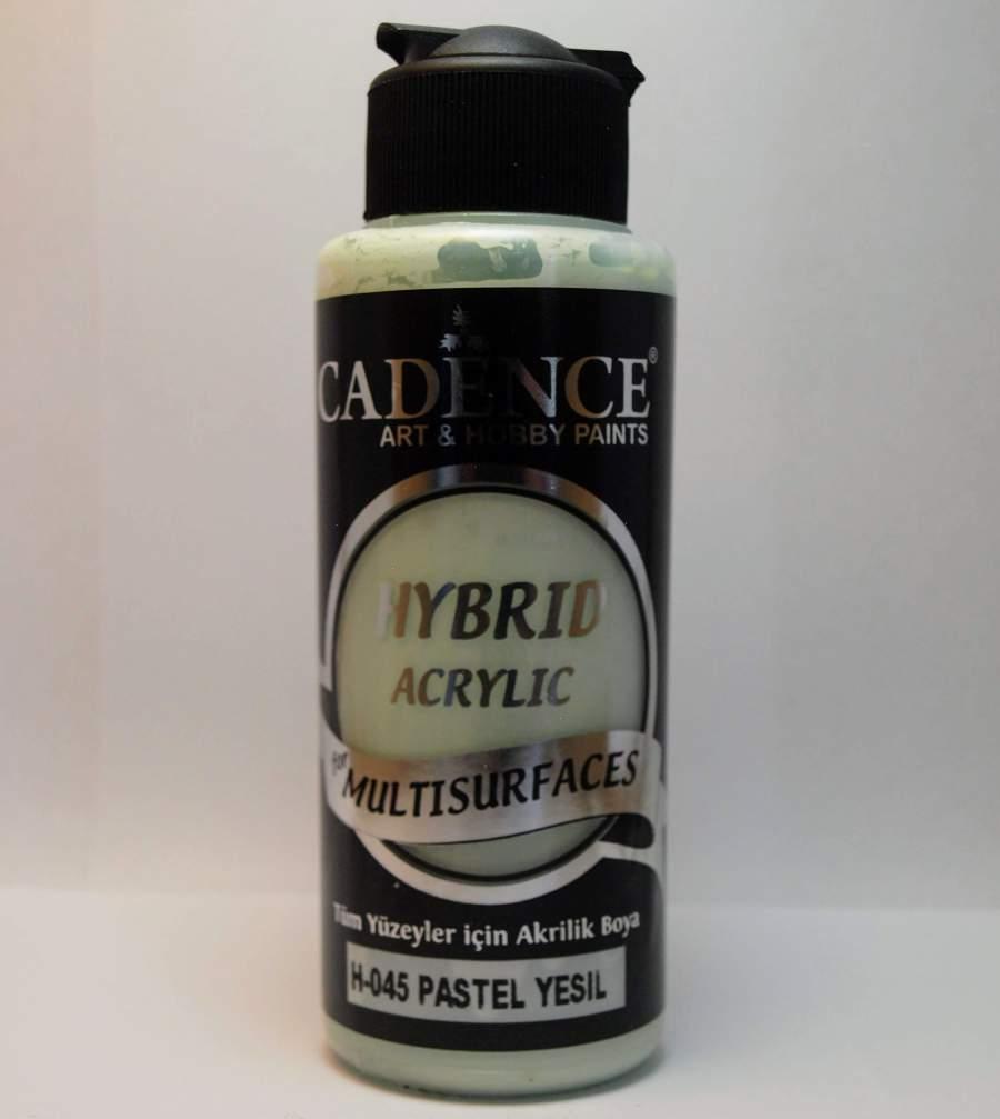 Hybrid akril festék - pasztellzöld