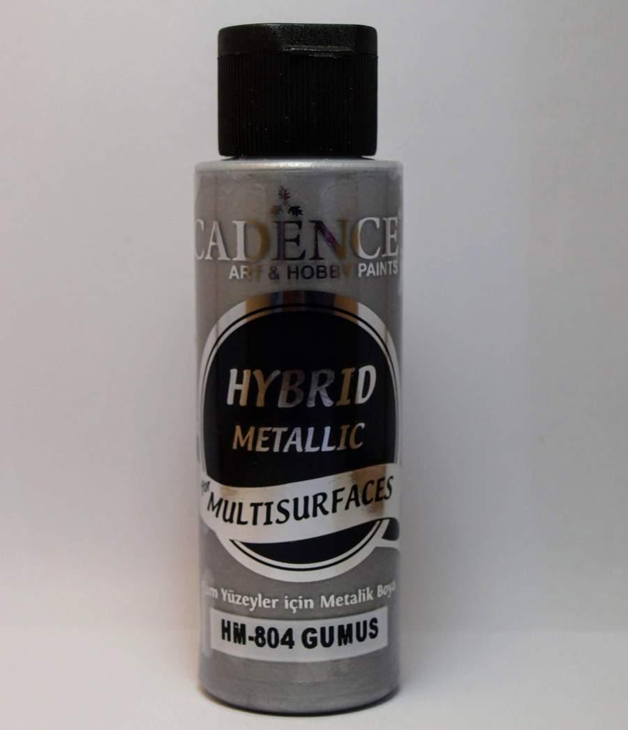 Hybrid akril festék metál - ezüst