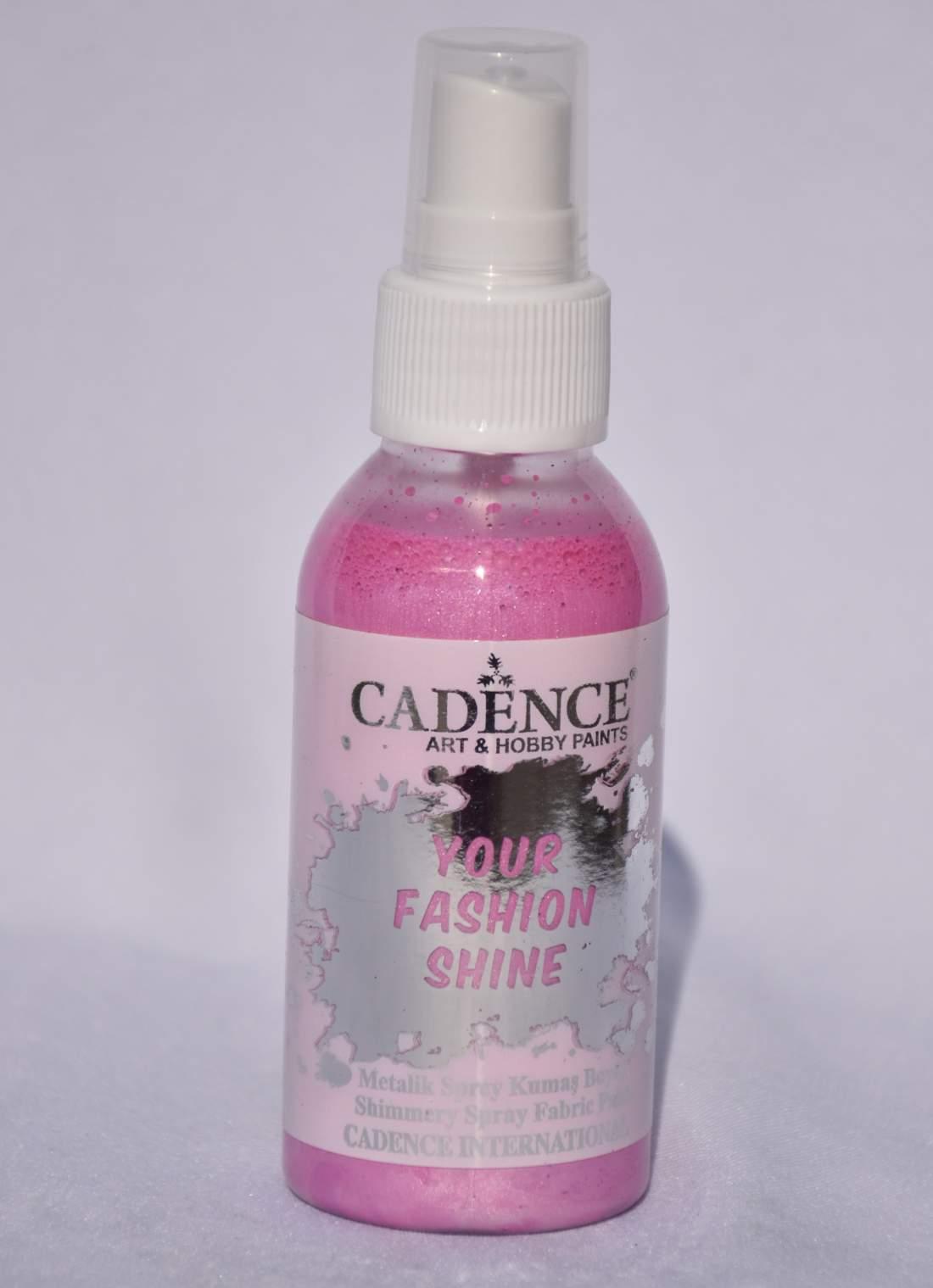 Your fashion metál textil spray - rózsaszín