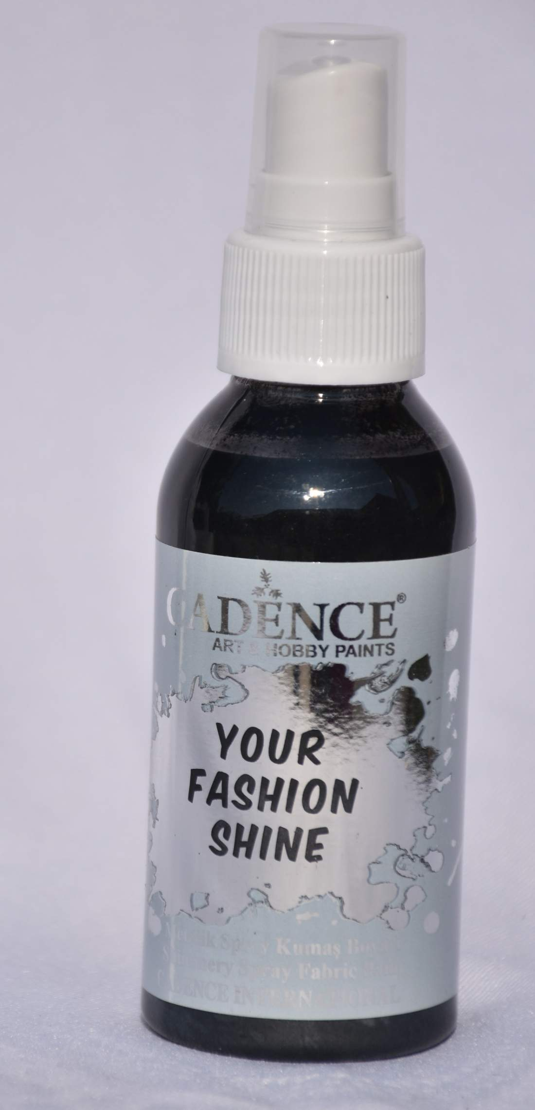 Your fashion metál textil spray - fekete