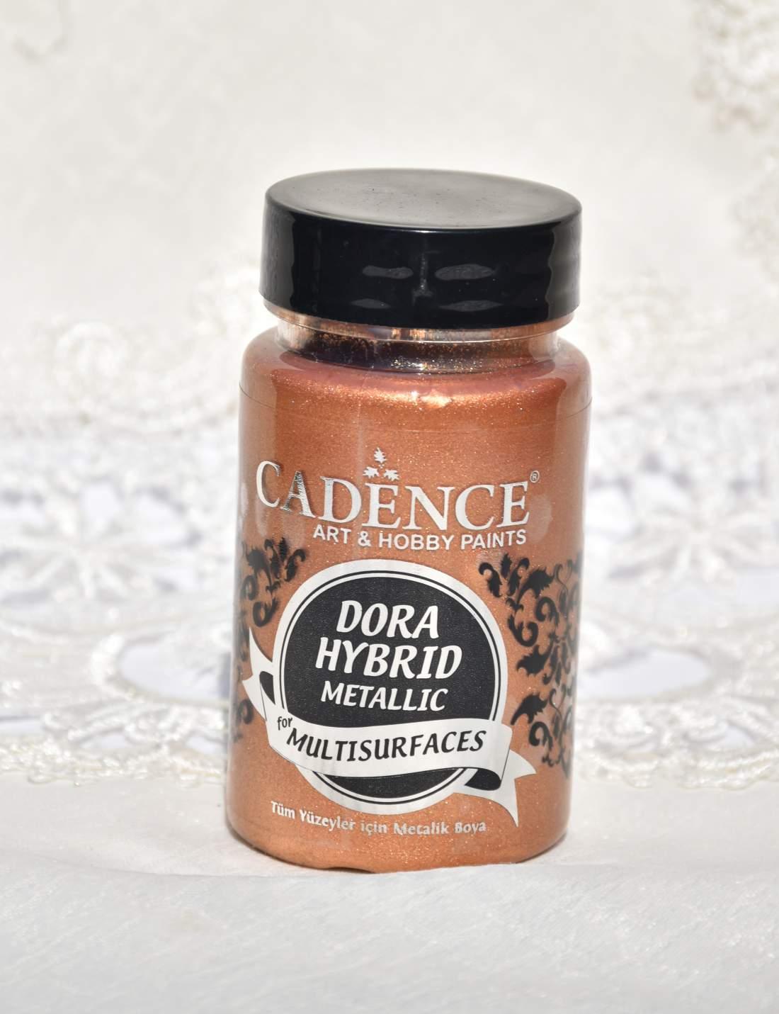 Dora hybrid metál akrilfesték - bronz
