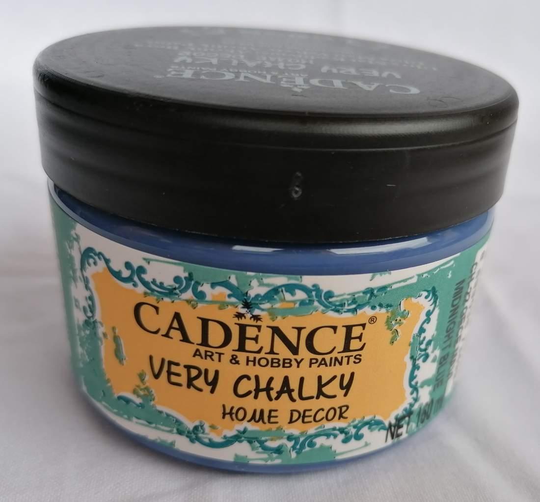 Very Chalky Home Decor krétafesték - éjféli kék