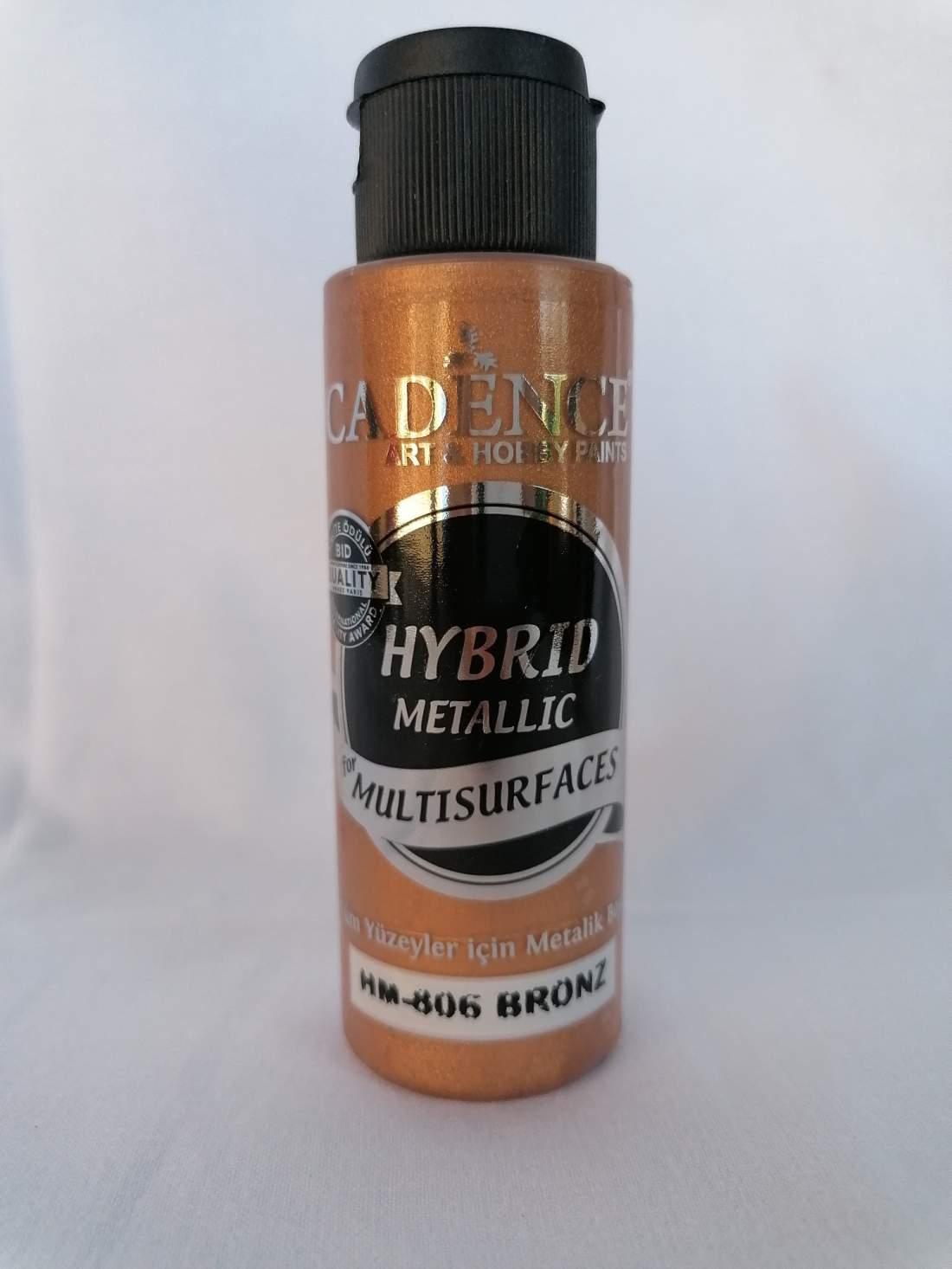 Hybrid akril festék metál - bronz