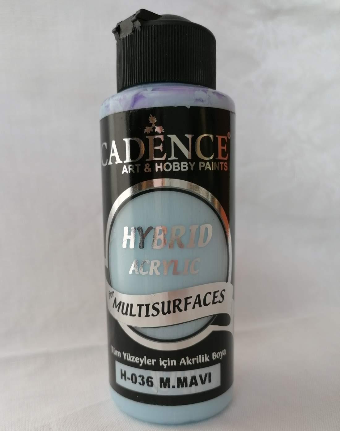 Hybrid akril festék - mild blue