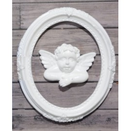 Szilikon forma - angyal kerettel