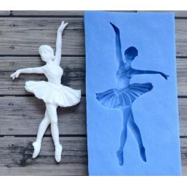 Szilikon forma - balerina