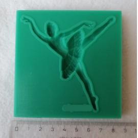 Szilikon forma - balerina 2