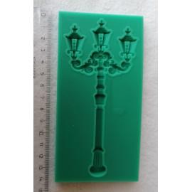 Szilikon forma - lámpaoszlop
