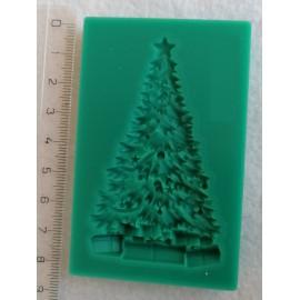 Szilikon forma - karácsonyfa