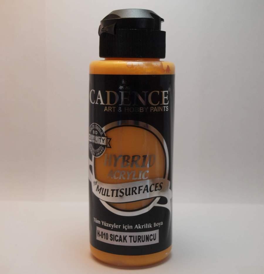 Hybrid akril festék H010 - meleg narancs