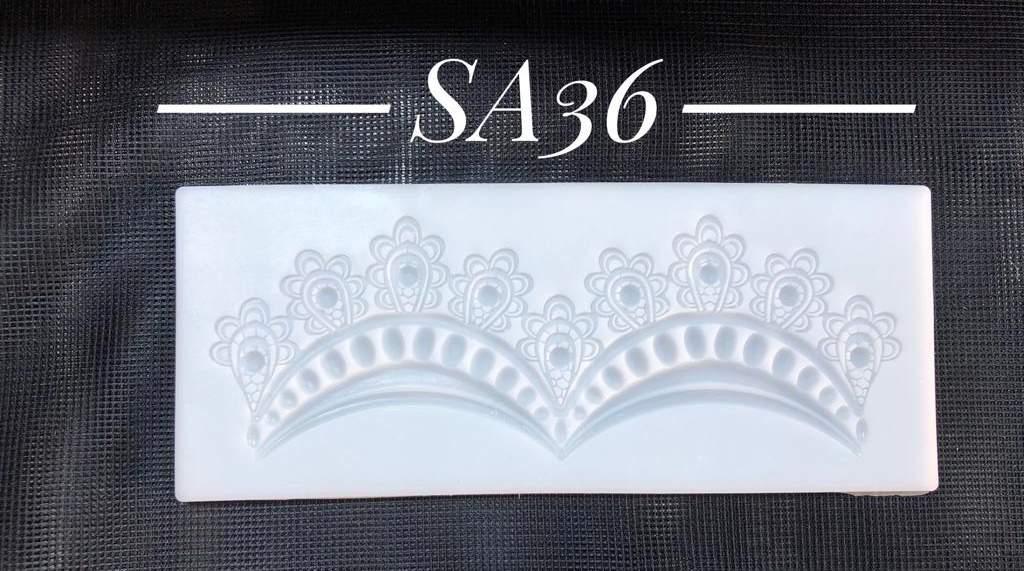 Szilikon forma - SA36