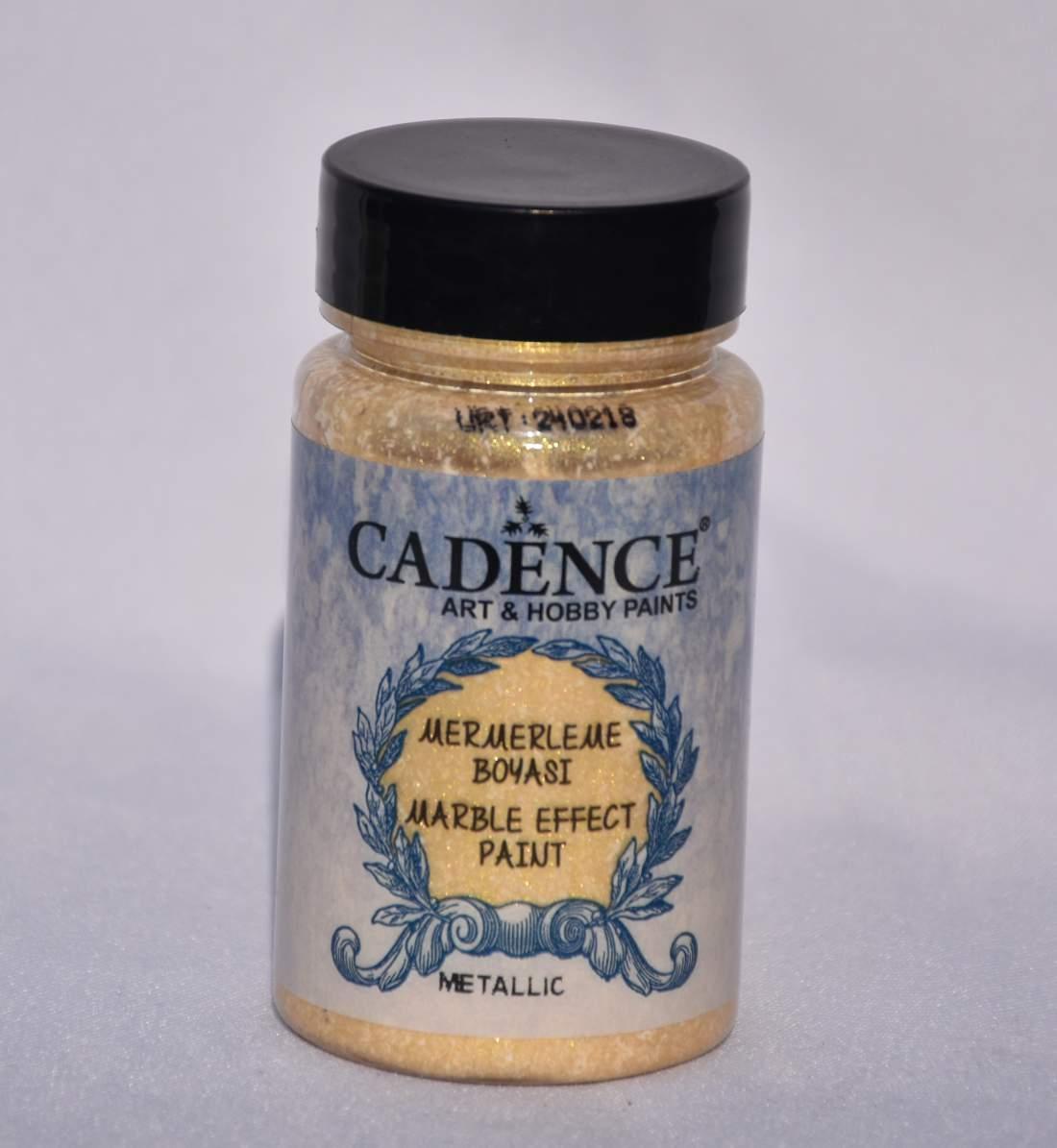 Márvány effekt festék metál - arany