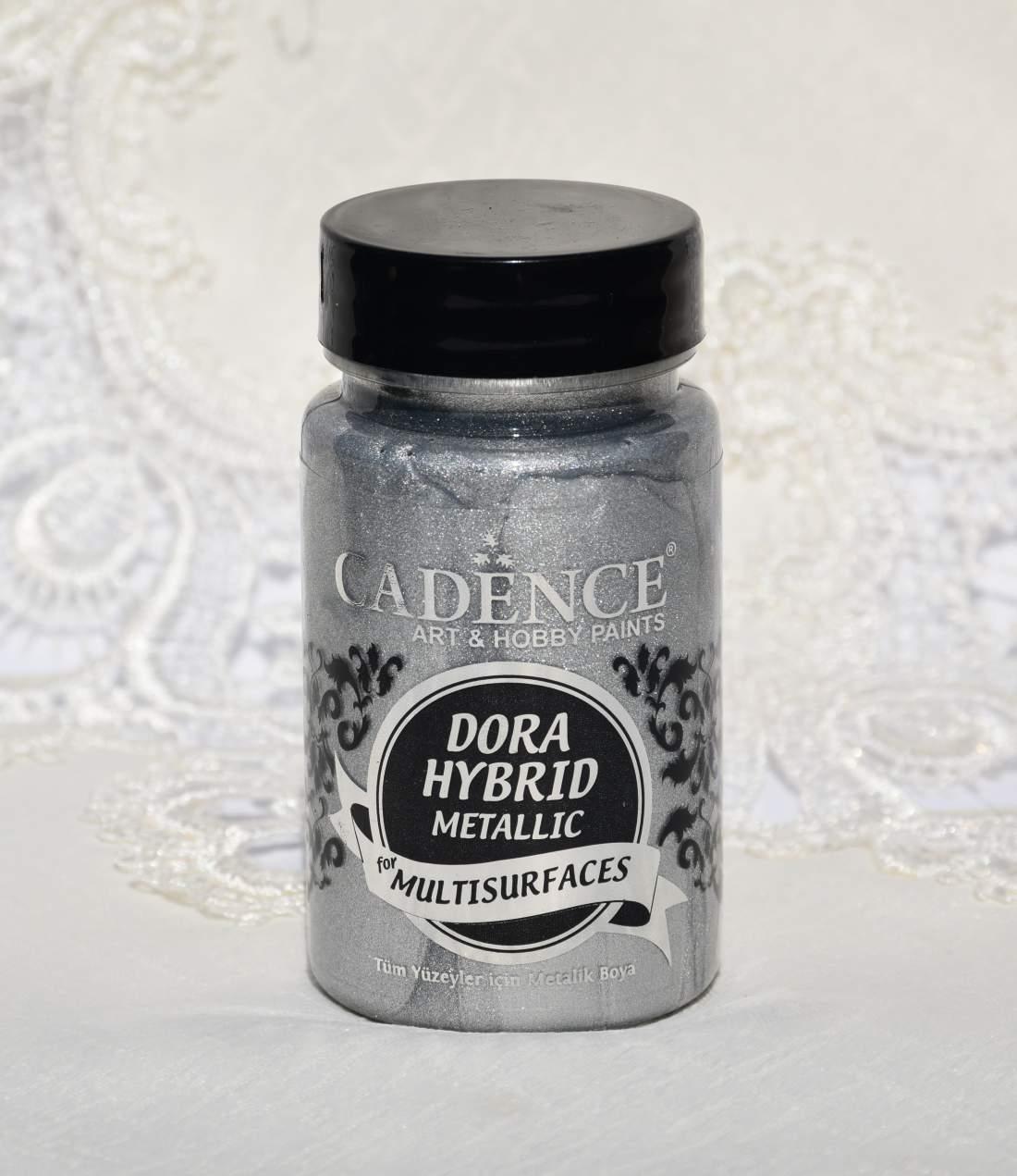 Dora hybrid metál akrilfesték - ezüst