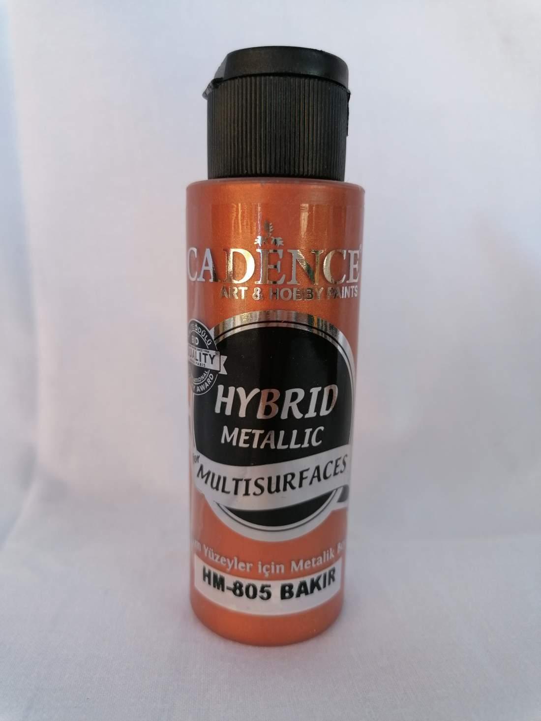 Hybrid akril festék metál - réz