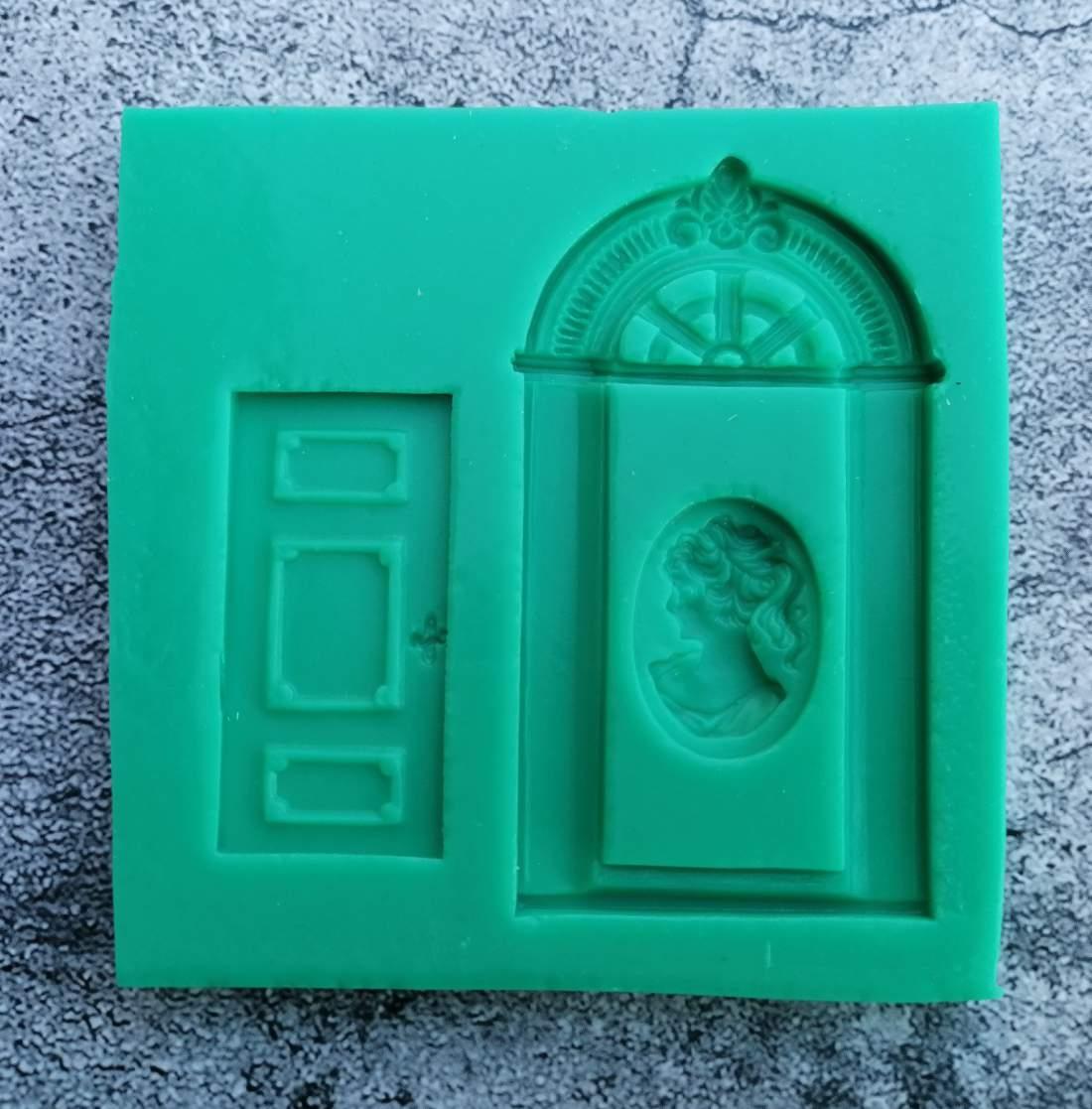 Szilikon forma - ajtó