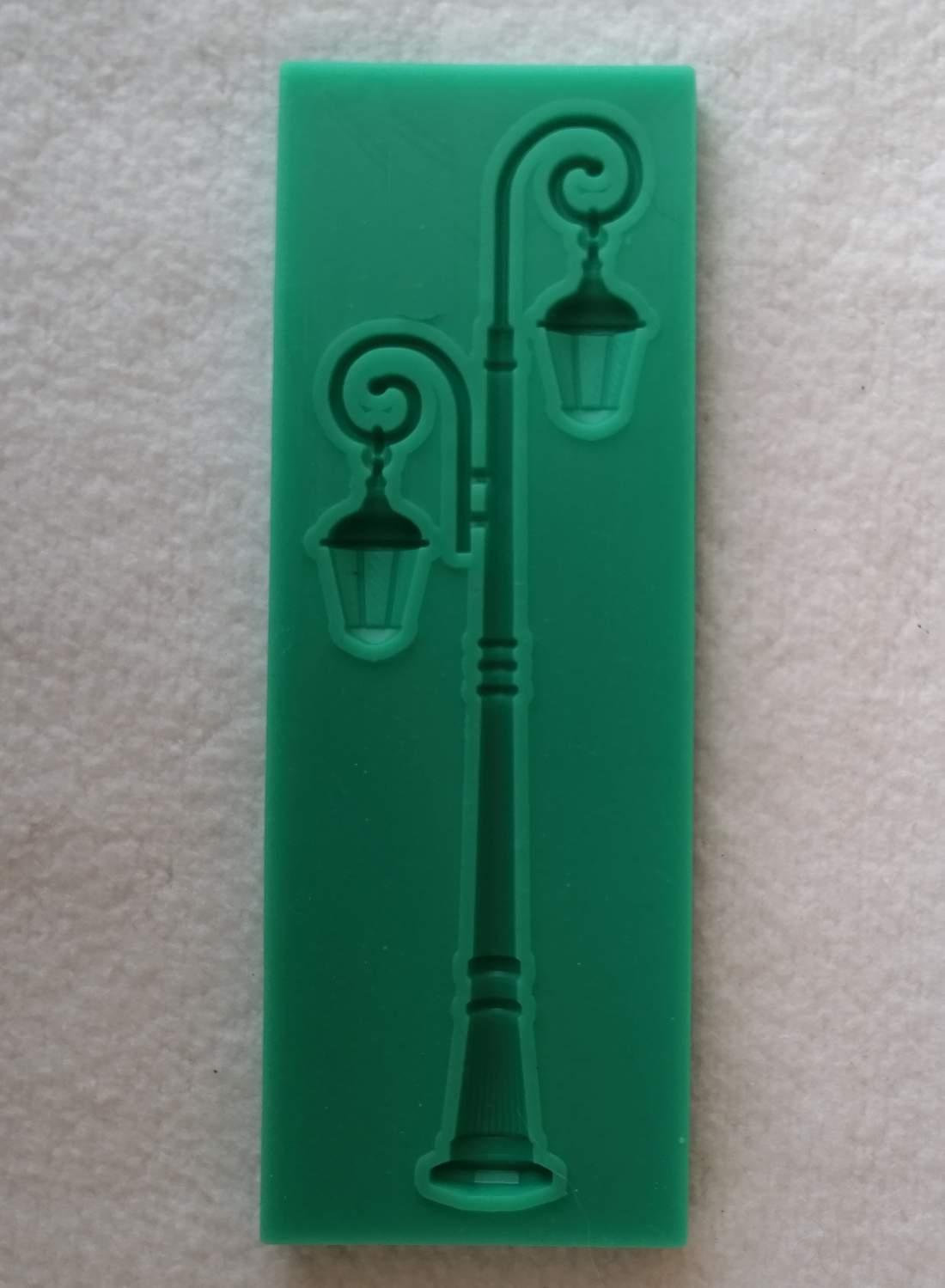 Szilikon forma - lámpaoszlop 2